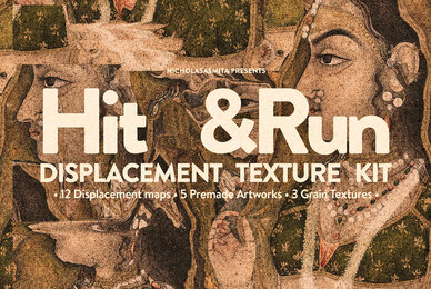 HitRun Displacement Map Texture Kit