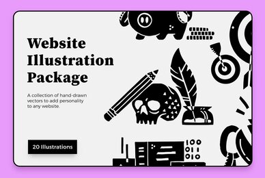 Website Illustration Package