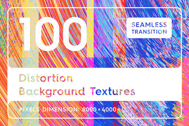 100 Distortion Background Textures
