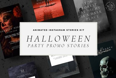 Halloween Animated Instagram Stories