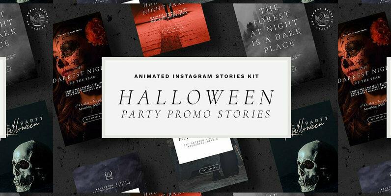 Halloween Animated Instagram Stories
