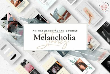 Melancholia Animated Instagram Stories