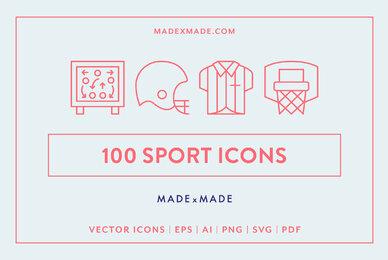 Sport Line Icons