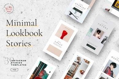 Minimal Lookbook   Instagram Stories Templates