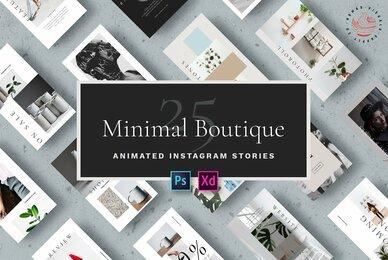 Minimal Boutique   Animated Instagram Stories