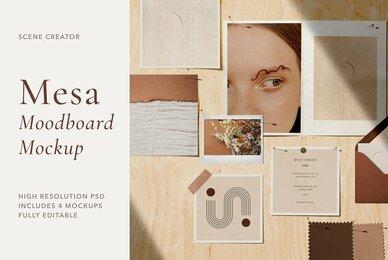 Mesa   Moodboard Scene Creator