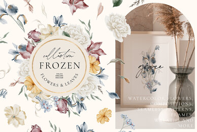 Frozen Flowers Collection