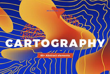 CARTOGRAPHY   Neo Vintage Map Branding Kit
