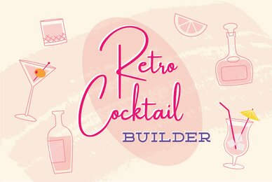 Retro Cocktail Creator