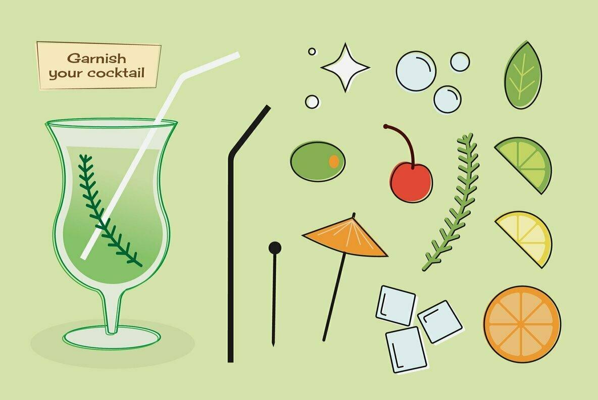 Retro Cocktail Creator