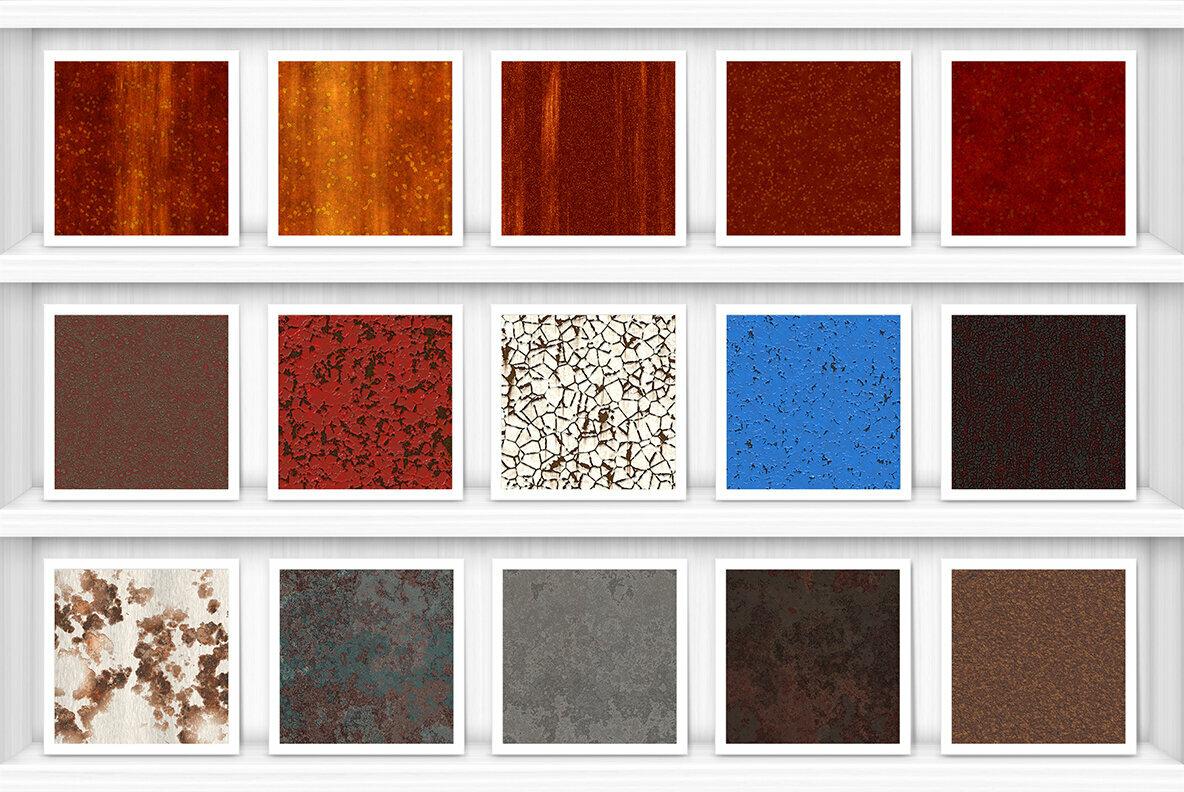 50 Rust Background Textures