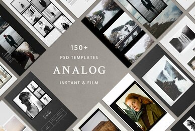 Analog Film  Instant   Social Kit