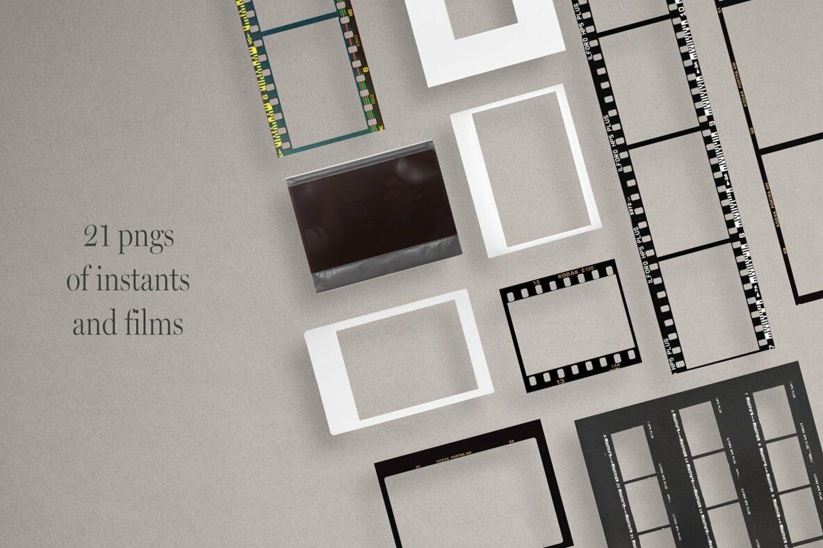 Analog Film   Instant   Social Kit