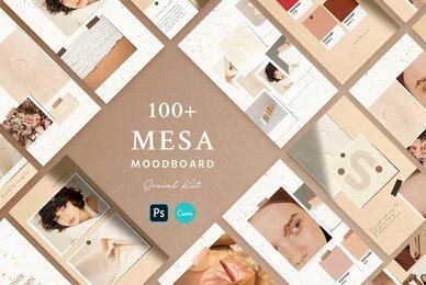 Mesa Moodboard   Social Kit