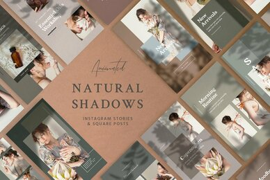 Natural Shadows Stories Social Kit