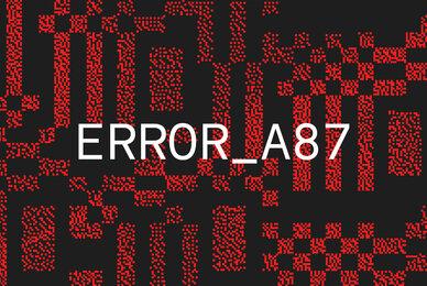 Error A87