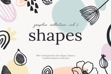 Abstract Shapes Print Graphics Vol 2