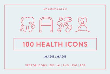 Health Line Icons