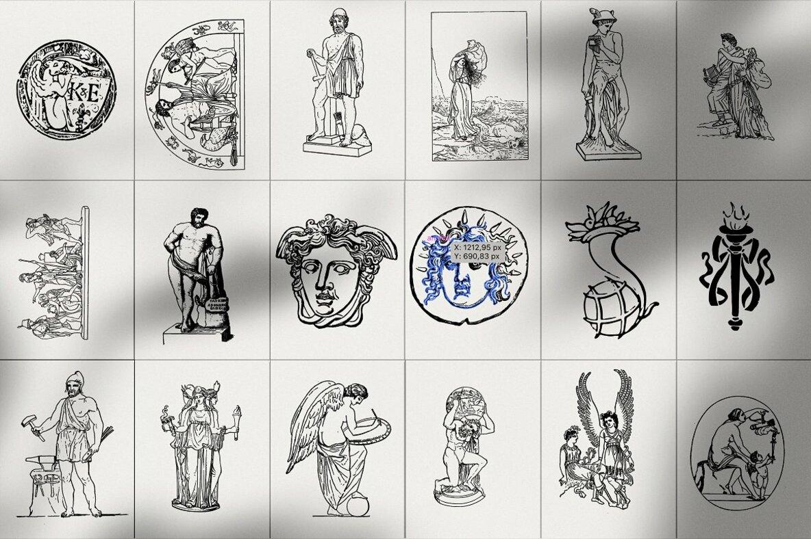 Ellenia   Greek Mythology Set