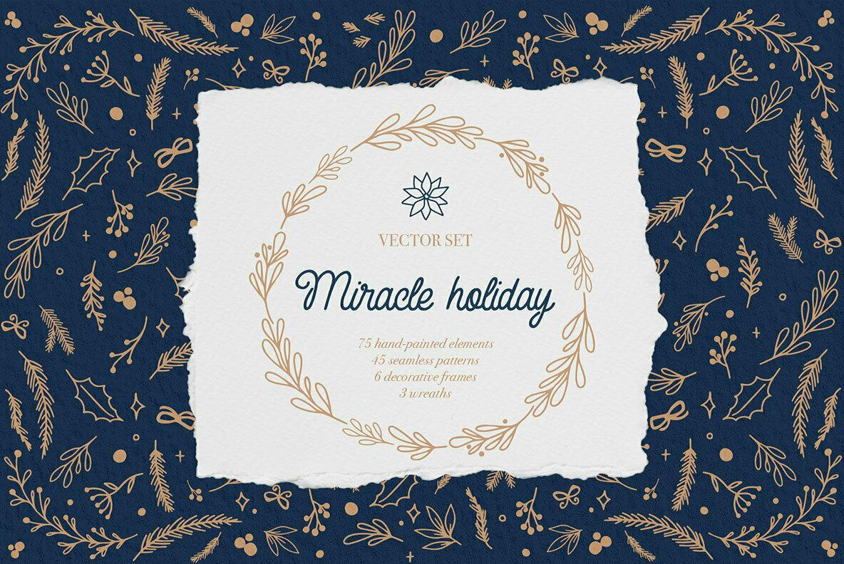 Miracle Holiday Vector Set