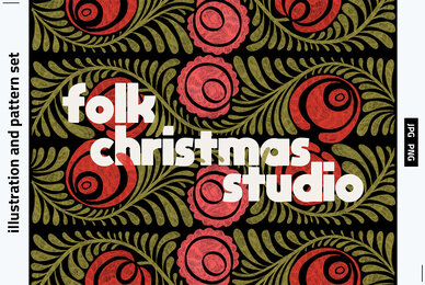 Folk Christmas Studio