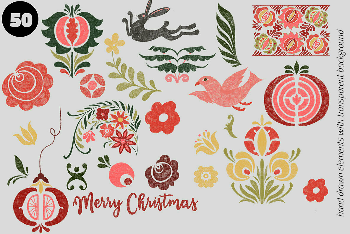 Folk Christmas Studio