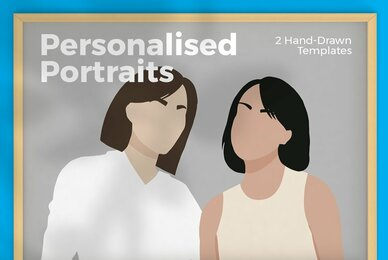 Hand Drawn Personalised Portraits