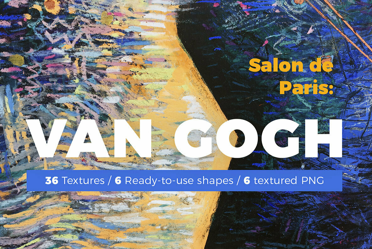 Van Gogh   Pastel Abstract Backgrounds