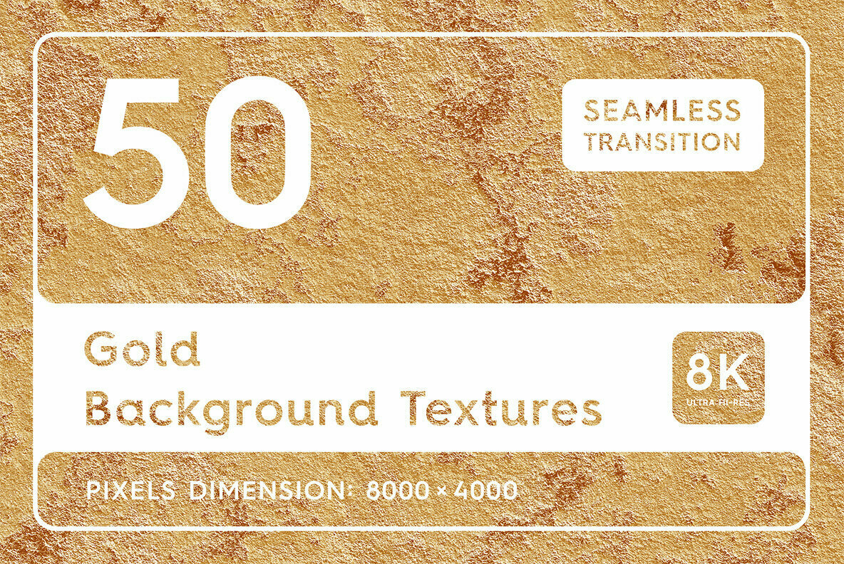 50 Gold Background Textures