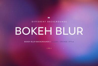 Bokeh Blur Backgrounds V2