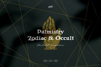 Palmistry  Zodiac  Occult