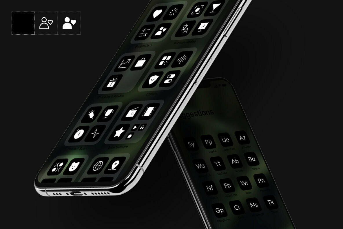 neue OS Icons B