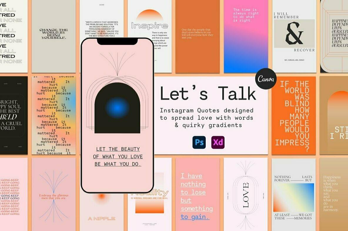 Let s Talk Instagram Quotes