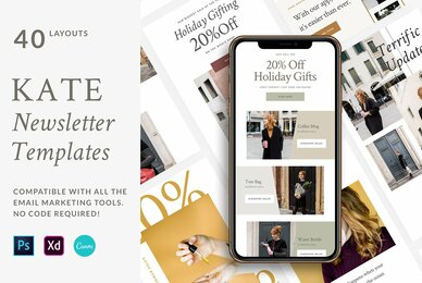 Kate Newsletter Templates