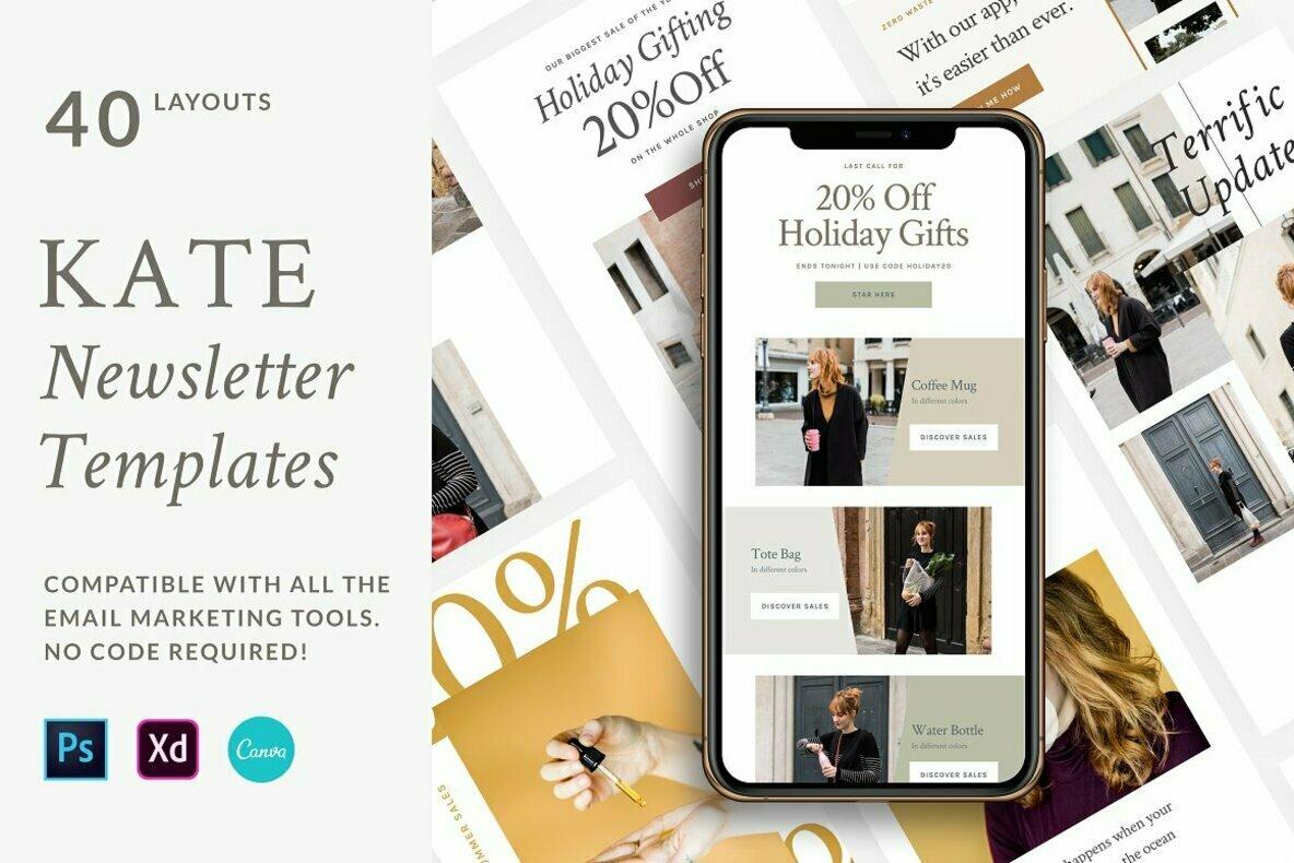 Kate Newsletter Templates