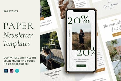 Paper Newsletter Templates