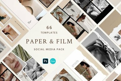 Paper and Film Social Kit