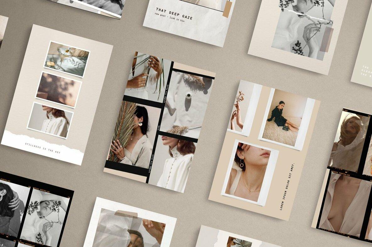 Paper and Film Social Kit