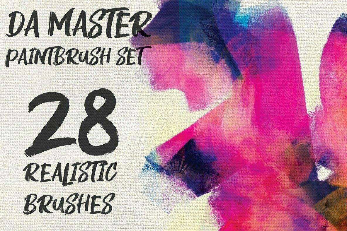 DA Master Paintbrushes for Procreate