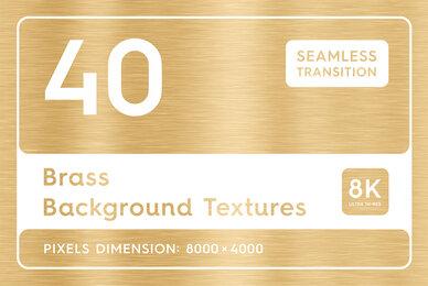 40 Brass Background Textures