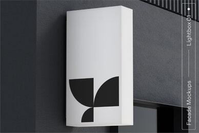 Lightbox 01 Facade Mockup