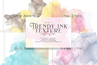 Trendy Ink Texture Bundle