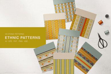 20 Ethnic Patterns