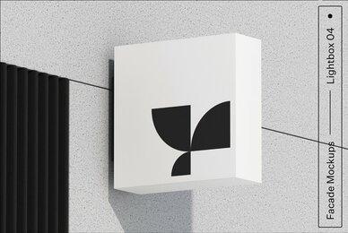 Lightbox 04 Facade Mockup