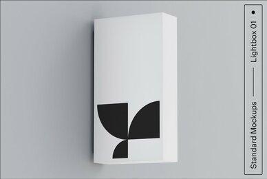 Lightbox 01 Standard Mockup