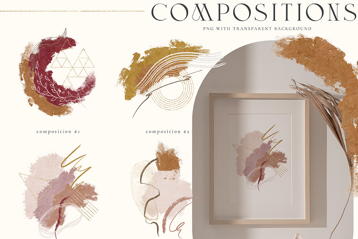Creative Abstract Collection