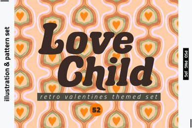 Love Child Valentines Day Set
