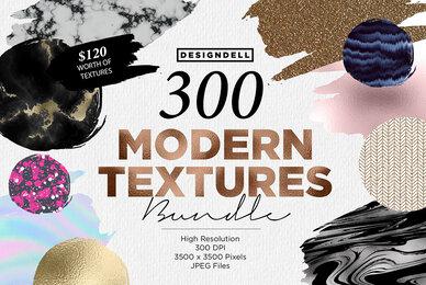 300 Modern Textures Bundle
