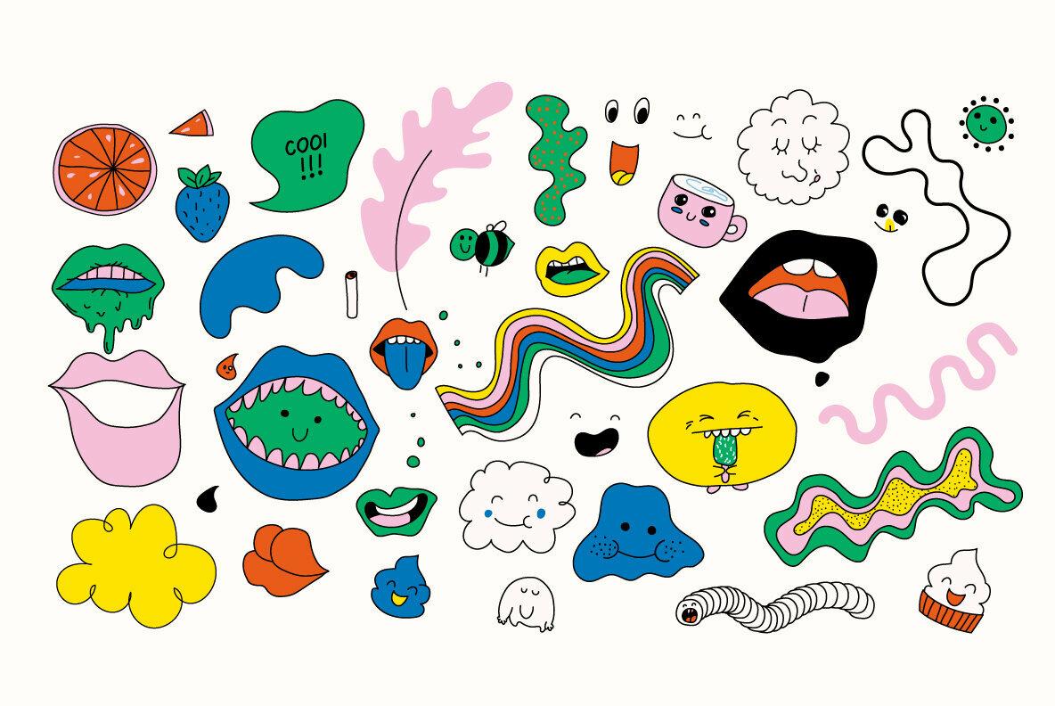 133 Sweet Doodles