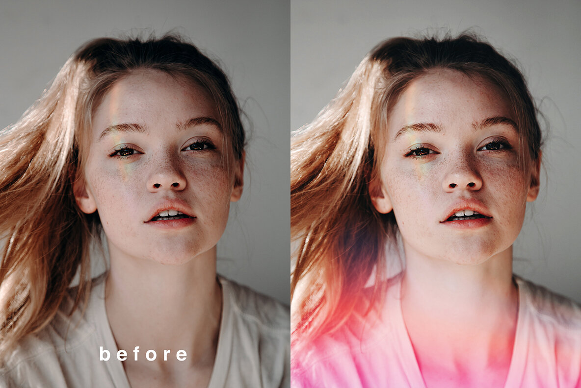 Light Leaks Overlays